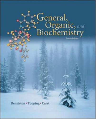 9780072469059: General, Organic, and Biochemistry with Online Learning Center