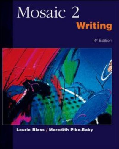 9780072469110: Mosaic Writing: Student Book Bk. 2