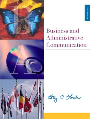 9780072469585: Business and Administrative Communication