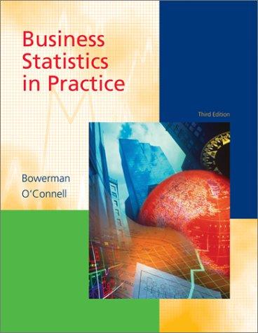 9780072470260: Business Statistics in Practice