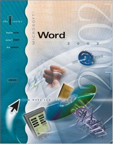 I-Series: MS Word 2002, Brief: Stephen Haag, James