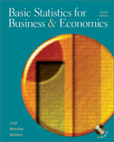9780072471045: Basic Statistics for Business and Economics (Mcgraw-Hill/Irwin Series Operations and Decision Sciences)