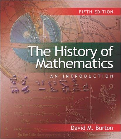 9780072471403: The History of Mathematics