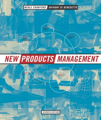 9780072471632: New Products Management (Mcgraw Hill/Irwin Series in Marketing)
