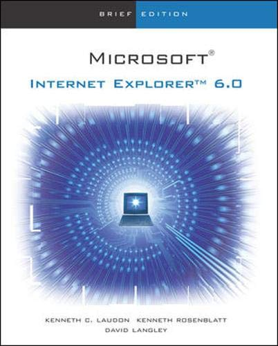 9780072471816: The Interactive Computing Series: IE 6.0 - Brief