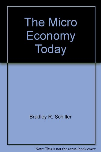 9780072472004: The micro economy today