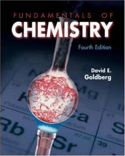 9780072472240: Fundamentals of Chemistry