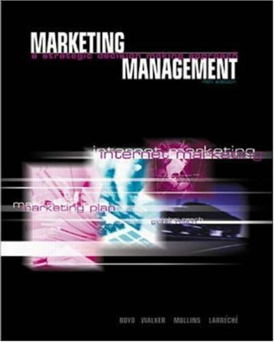 9780072472950: Marketing Management: A Strategic, Decision-Making Approach (w/GAMAR Software)