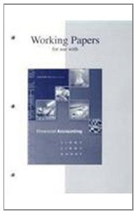 Working Papers t/a Financial Accounting: Libby, Robert; Libby,