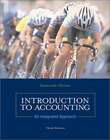 9780072473834: Introduction to Accounting: An Integrated Approach