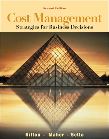 9780072474343: Cost Management: Strategies for Business Decisions