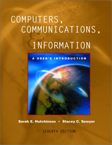 9780072474534: Computers, Communications, and Information