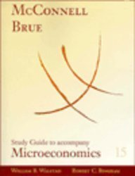 9780072474855: Study Guide for use with Microeconomics
