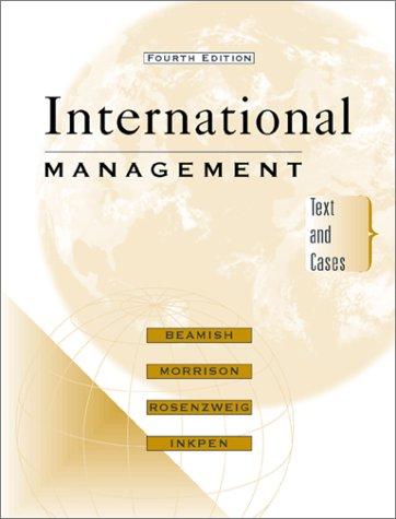 9780072476446: International Management with PowerWeb
