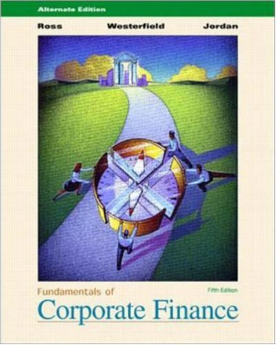 9780072476507: Fundamentals of Corporate Finance Alt/ed. w/ Study CD, PowerWeb & E-Text