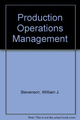 9780072476569: Production Operations Management
