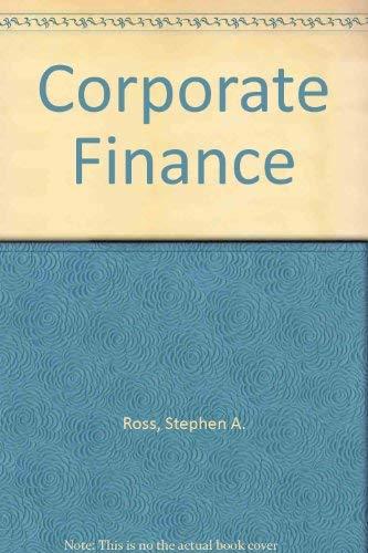 9780072476606: Corporate Finance