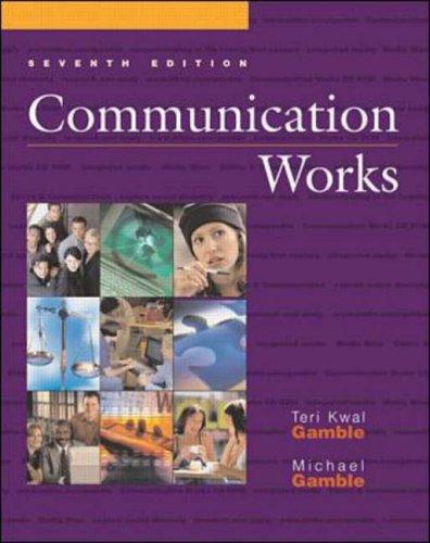 9780072478433: Communication Works