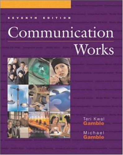 9780072478433: Communication Works with Communication Works CD-ROM 1.0