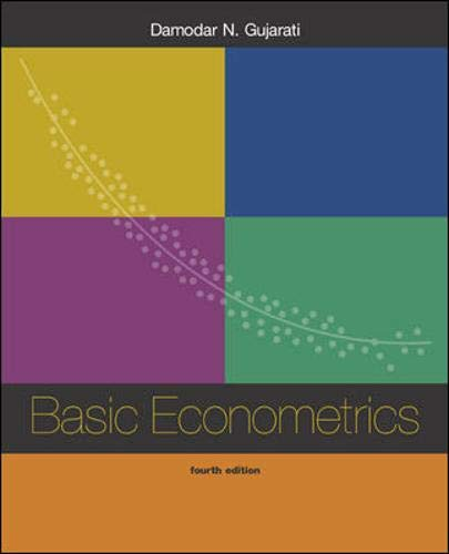 9780072478525: Basic Econometrics w/Software Disk