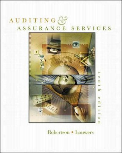 9780072478532: Auditing and Assurance Services: With Apollo Shoes Casebook