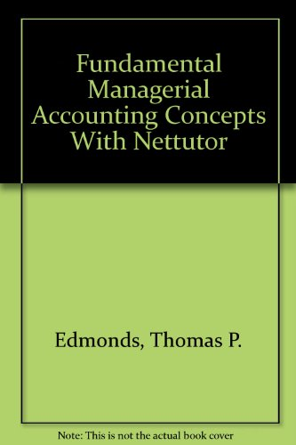 9780072478648: Fundamental Managerial Accounting Concepts With Nettutor