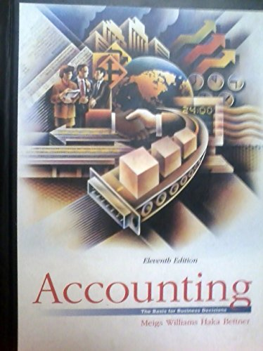 9780072478655: Accounting: The Basis for Business Decisions