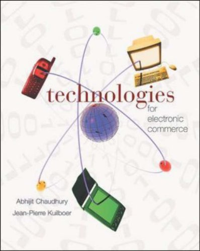 9780072478754: E-Business & E-Commerce Infrastructure: Technologies Supporting the E-Business Initiative