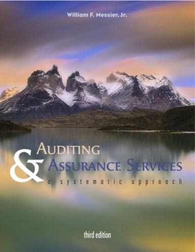 9780072478778: Auditing and Assurance Services: A Systematic Approach