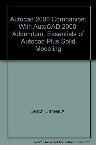 9780072479645: AutoCAD 2000 Companion with AutoCAD 2000i Addendum
