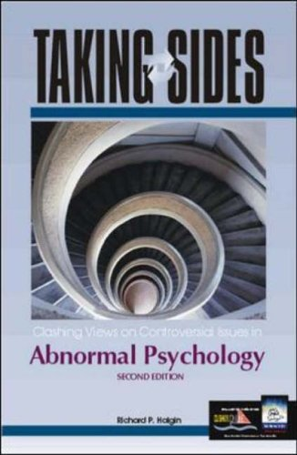 9780072480429: Taking Sides: Clashing Views on Controversial Issues in Abnormal Psychology (Taking Sides: Abnormal Psychology)