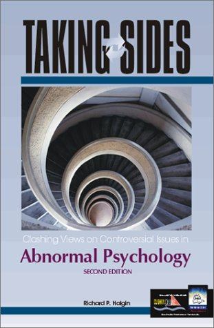 9780072480429: Taking Sides: Clashing Views on Controversial Issues in Abnormal Psychology