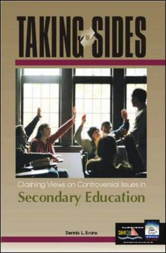9780072480443: Taking Sides: Clashing Views on Controversial Issues in Secondary Education (Taking Sides: Secondary Education)