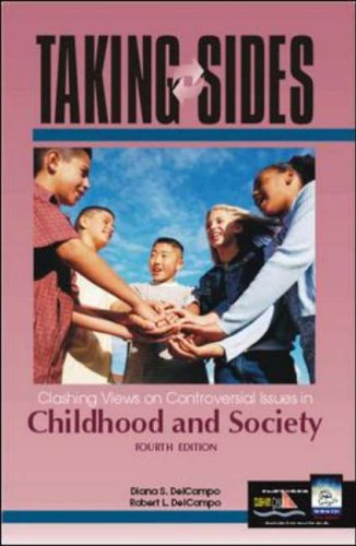 9780072480528: Clashing Views on Controversial Issues in Childhood and Society (Taking Sides)