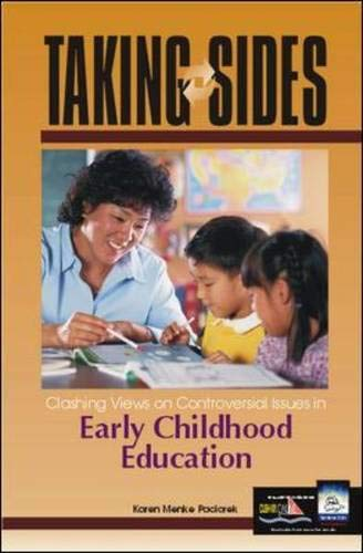 9780072480542: Taking Sides: Clashing Views on Controversial Issues in Early Childhood Education (Taking Sides: Early Childhood Education)