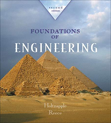 9780072480825: Foundations of Engineering