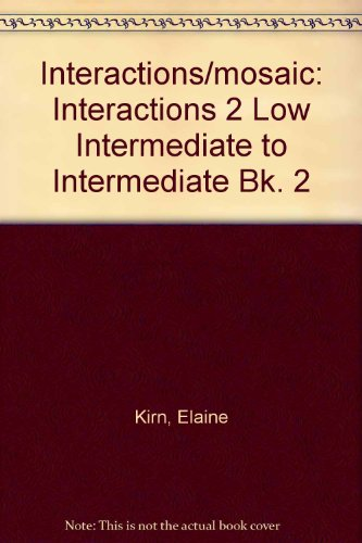 9780072481334: Interactions/Mosaic, 4th Edition - Interactions 2 (Low Intermediate to Intermediate) - Reading Audiocassette: Interactions 2 Low Intermediate to Intermediate Bk. 2