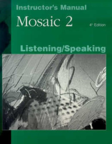 9780072481471: Mosaic 2, Listening/Speaking
