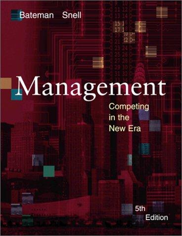 9780072482010: Management