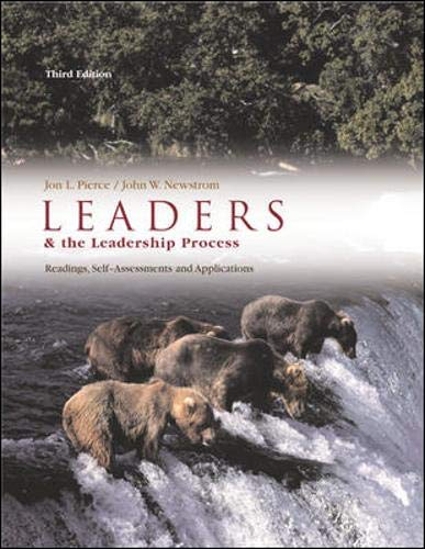 on the meaning of leadership jon pierce john newstrom By jon pierce and john newstrom  chapter 10: followers and the leadership process chapter 11: leadership style: participative, directive, and laissez-faire.