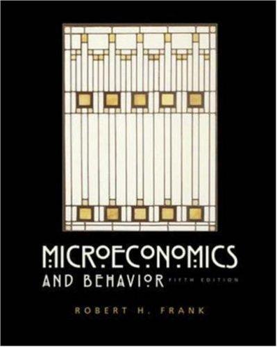 9780072483345: Microeconomics and Behavior