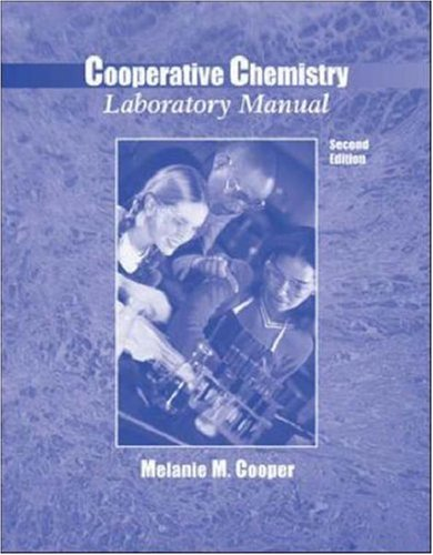 9780072483635: Cooperative Chemistry Laboratory Manual