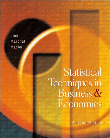 9780072483895: Statistical Techniques in Business and Economics