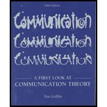 9780072483925: A First Look at Communication Theory