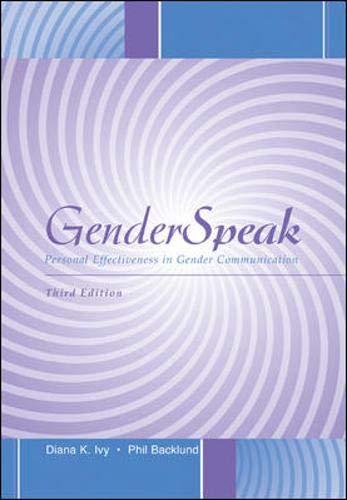 9780072483932: GenderSpeak: Personal Effectiveness in Gender Communication