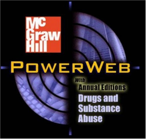 9780072484014: Drugs In Modern Society w/PowerWeb Drugs Mandatory Pkg.