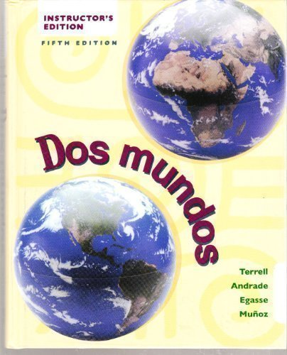 9780072484236: Dos Mundos (Teachers Ed)