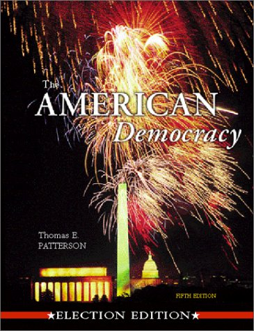 9780072485011: The American Democracy (Election Edition)