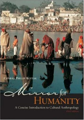 9780072485370: Mirror for Humanity: With Free PowerWeb: A Concise Introduction to Cultural Anthropology