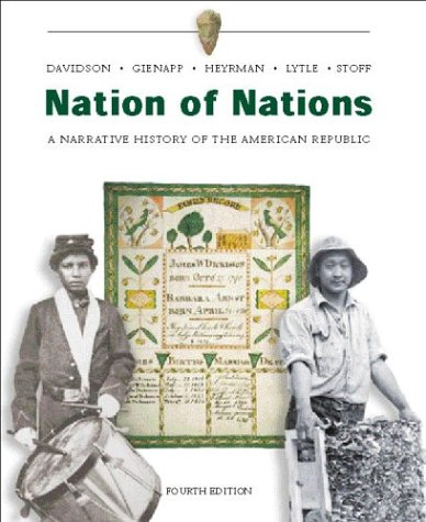 9780072485431: Nation of Nations w/ Interactive E-Source CD ROM; MP: A Narrative History of the American Republic